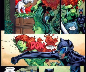 batman, catwoman, and poison ivy image