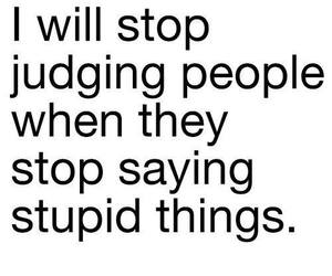quote, people, and stupid image