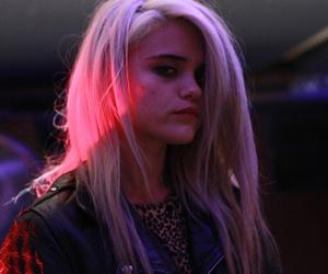 dark, girl, and pink image