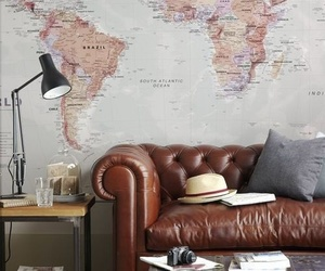 hat, lamp, and perfect room image