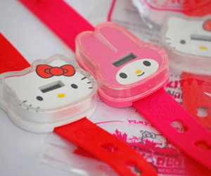 hello kitty and watch image