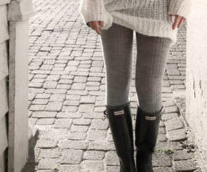 clothes, fashion, and tights image