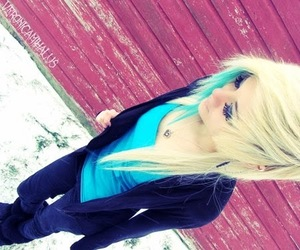 blonde, emo, and girl image