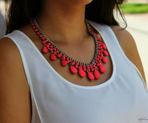 necklace and summer image