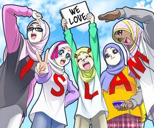 Islam Muslim And Hijab Image