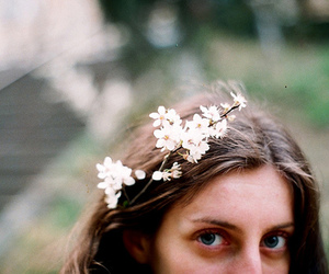 vintage, flowers, and hipster image