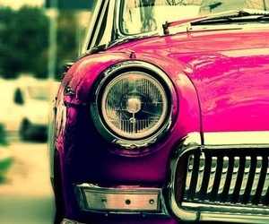 car, red, and pink image