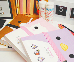 kawaii, notebook, and cute image