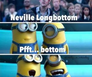 minions, harry potter, and neville longbottom image