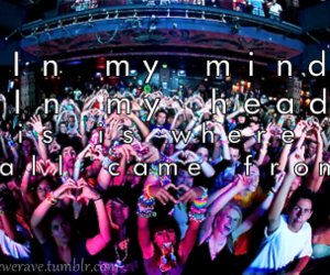 djs, In my mind, and party image