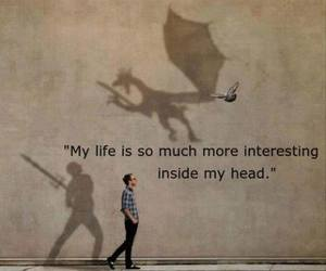 life, quotes, and imagination image