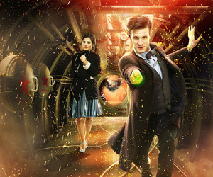 clara, doctor who, and sonic image