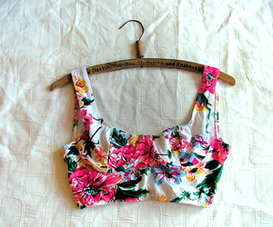fashion, floral, and summer image