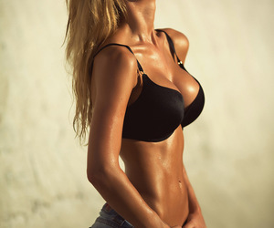 fashion, pretty, and fitness image