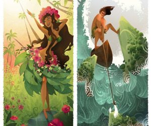 characters, fantasy, and illustration image