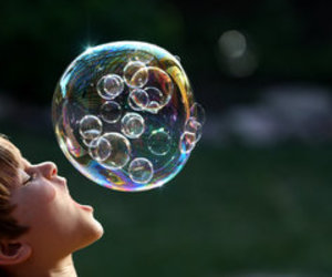 bubbles, boy, and kids image