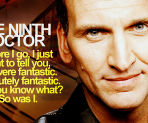 doctor who, fantastic, and 9th doctor image