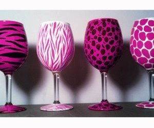 pink, zebra, and animal print image