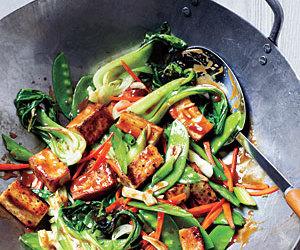 stir fry, shaoxing, and tofu image
