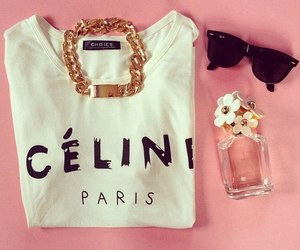 fashion, celine, and paris image