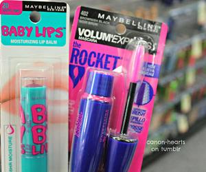 make up, baby lips, and girly image