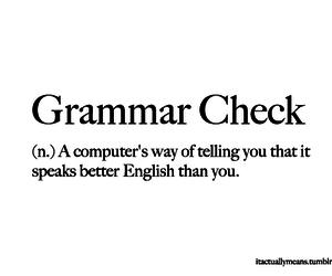 computer, grammar, and lol image