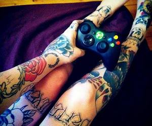 tattoo, game, and xbox image