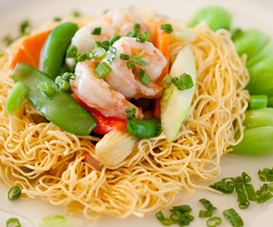 asia, noodles, and asian image