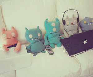 monster, apple, and toys image
