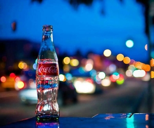 coca cola, coke, and light image