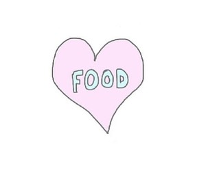 food and love image