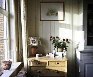 home, flowers, and vintage image