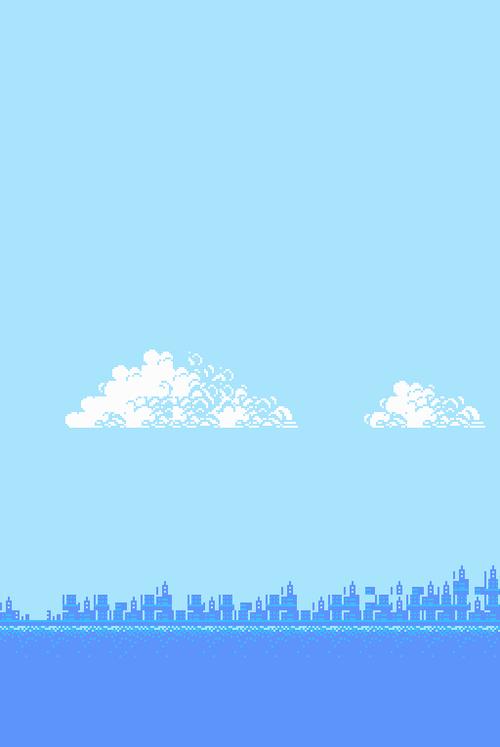 920 background biru aesthetic paling keren