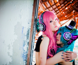 cosplay, miku, and magnet image