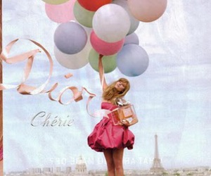 dior, balloons, and pink image