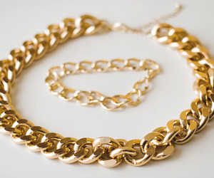 gold, fashion, and bracelet image