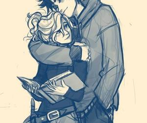 book, percabeth, and girl image