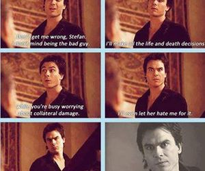 Vampire Diaries and love damon. image