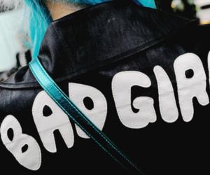 bad girl, girl, and jacket image