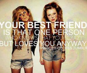best friends, friends, and crazy image