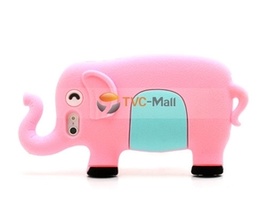 elephant, pink, and cute iphone case image