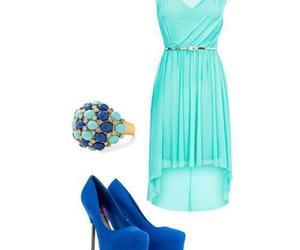 dubtrackfm, dress, and blue image