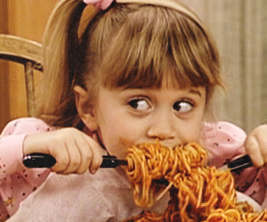 food, full house, and olsen image