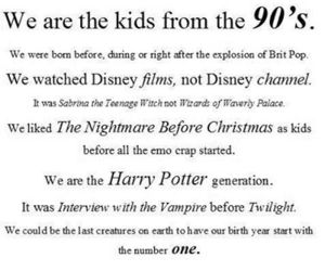 harry potter, kids, and 90's kids image