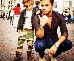 boy, dad, and fashion image
