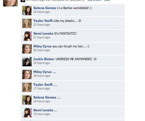 miley cyrus, justin bieber, and Taylor Swift image