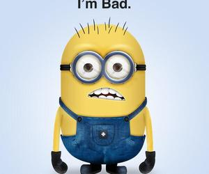 minions, bad, and despicable me image