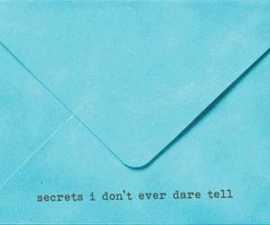 secret, Letter, and text image
