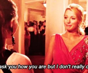 gossip girl, blake lively, and quote image