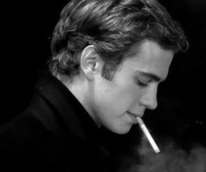 hayden christensen, cigarette, and sexy image